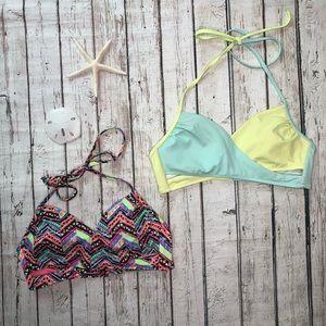 2 VS PINK Bikini Tops BUNDLE